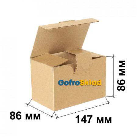 Гофрокороб FEFCO 0215 Ласточкин хвост 147x86x86