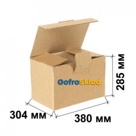 Гофрокороб FEFCO 0215 Ласточкин хвост 380x304x285
