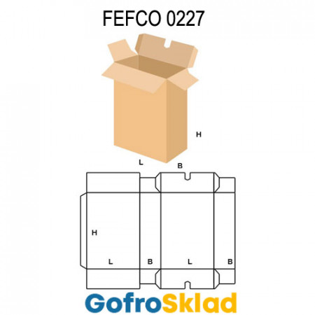 Короб FEFCO 0227