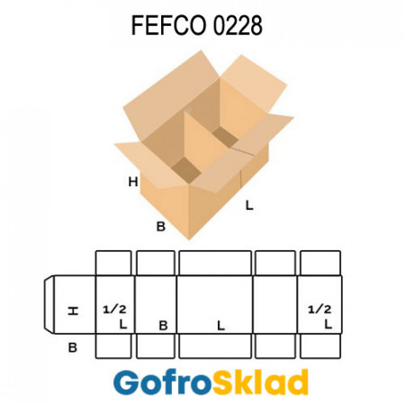 Короб FEFCO 0228