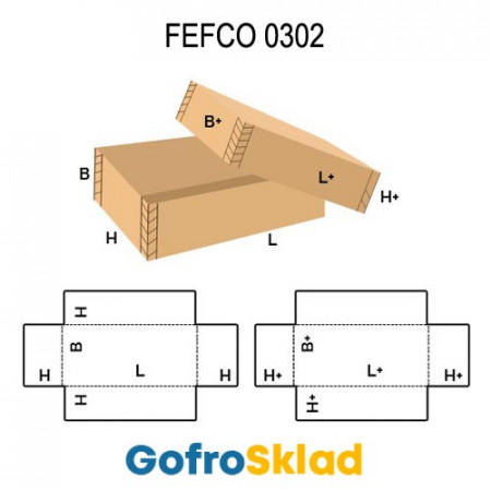 Короб FEFCO 0302