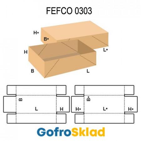 Короб FEFCO 0303 с перфорацией