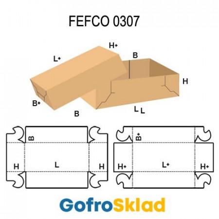 Короб FEFCO 0307  с «ушками»