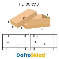 Короб FEFCO 0310 с обечайкой