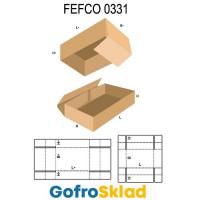 Короб FEFCO 0331 с перекрыванием по высоте