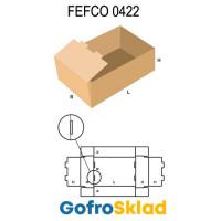 Короб FEFCO 0422 с высокими двойными бортами