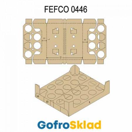Ложемент картонный (FEFCO 0446)