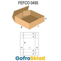 Короб FEFCO 0455 с усиленными бортами по длине