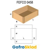Короб FEFCO 0458 с проклейкой по углам