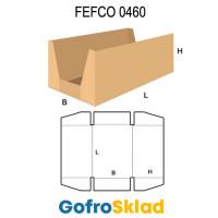 Короб FEFCO 0460 с высокими бортами по длине