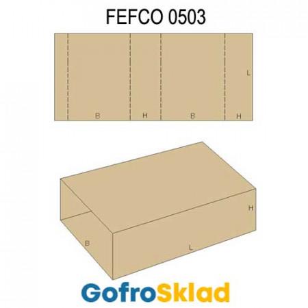 Обечайка картонная (FEFCO 0503)