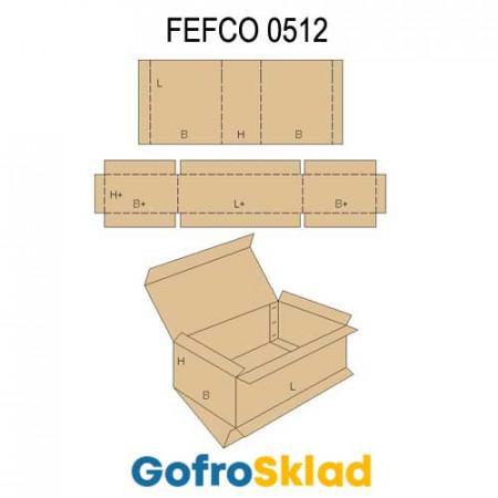 Обечайка картонная (FEFCO 0512)