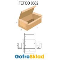 Короб FEFCO 0602 усиленный с замковой крышкой