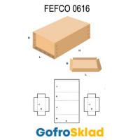 Короб FEFCO 0616 усиленный со съемной крышкой