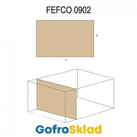 Прокладка из гофрокартона (FEFCO 0902)