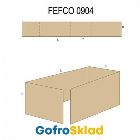 Вкладыш из гофрокартона (FEFCO 0904)