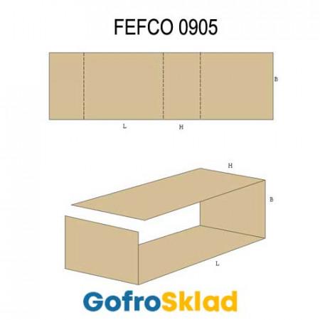 Вкладыш из гофрокартона (FEFCO 0905)
