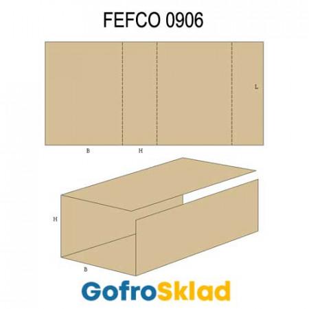 Вкладыш из гофрокартона (FEFCO 0906)