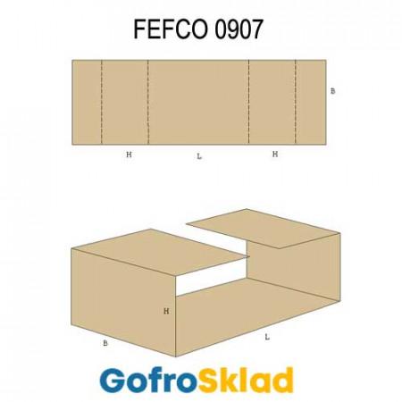 Вкладыш из гофрокартона (FEFCO 0907)
