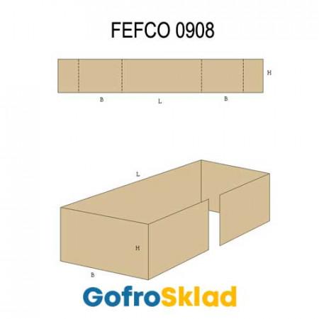 Вкладыш из гофрокартона (FEFCO 0908)