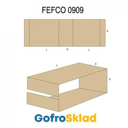 Вкладыш из гофрокартона (FEFCO 0909)
