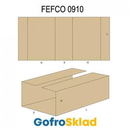 Вкладыш из гофрокартона (FEFCO 0910)
