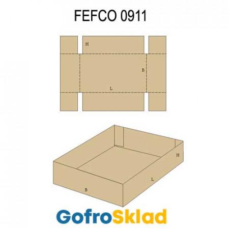 Прокладка из гофрокартона (FEFCO 0911)