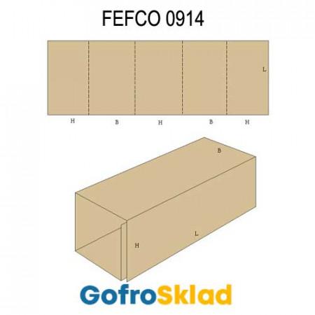 Прокладка из гофрокартона (FEFCO 0914)