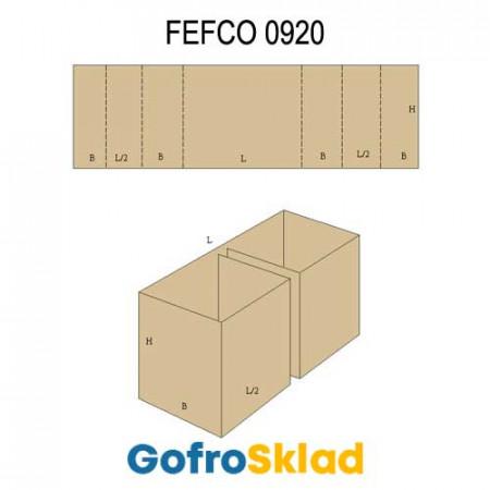 Прокладка из гофрокартона (FEFCO 0920)