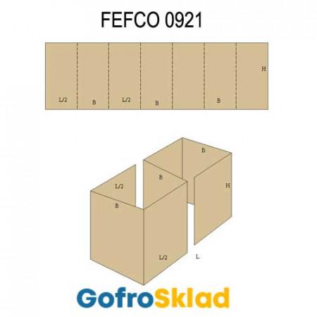 Прокладка из гофрокартона (FEFCO 0921)
