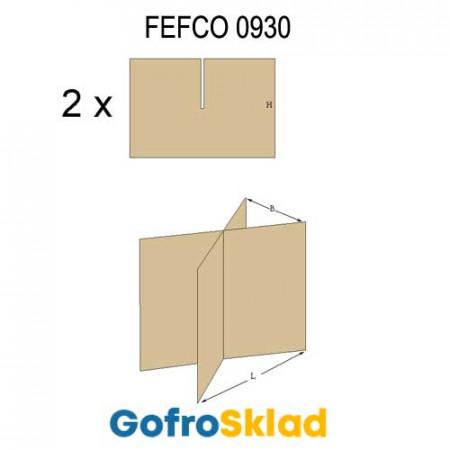 Решетки из гофрокартона FEFCO 0930