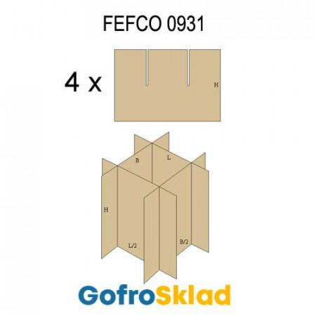 Решетки из гофрокартона FEFCO 0931