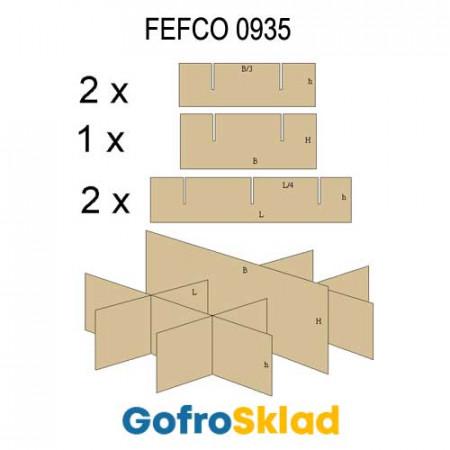 Решетки из гофрокартона FEFCO 0935