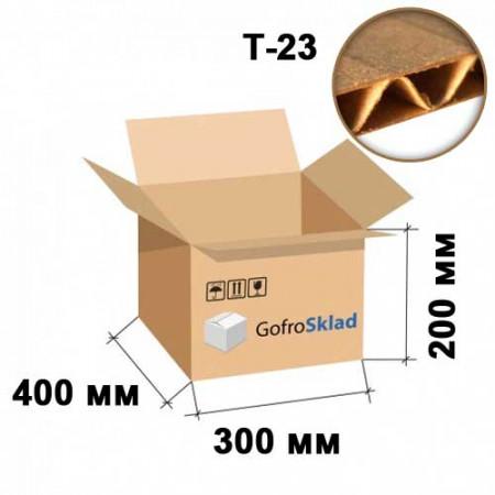 Гофрокороб 400х300х200 Т-23 Бурый