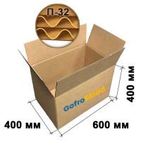 Картонная коробка 600х400х400 П-32 бурая