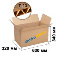 Картонная коробка для переезда №18 630х320х340 Т-23 бурая