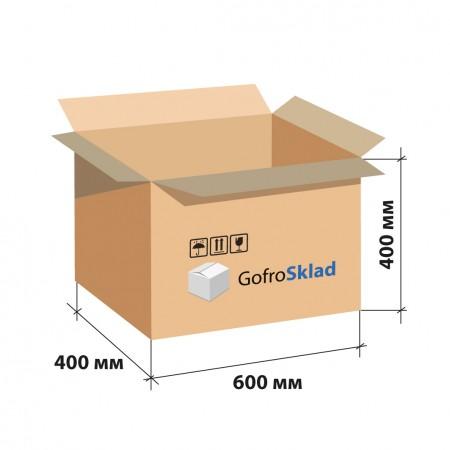 Гофрокороб 600х400х400 П-32 Бурый