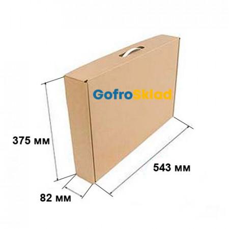 Коробка Чемодан 543х82х375 мм Т-24 Бурый
