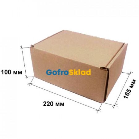 Почтовая коробка тип Д 220×165×100 мм Т-23В Бурый