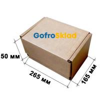 Почтовая коробка тип Е 265×165×50 мм Т-23В Бурый