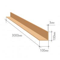 Картонный защитный уголок 100х100х3 мм 3000 мм