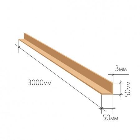 Защитный уголок 50х50х3 мм 3000 мм